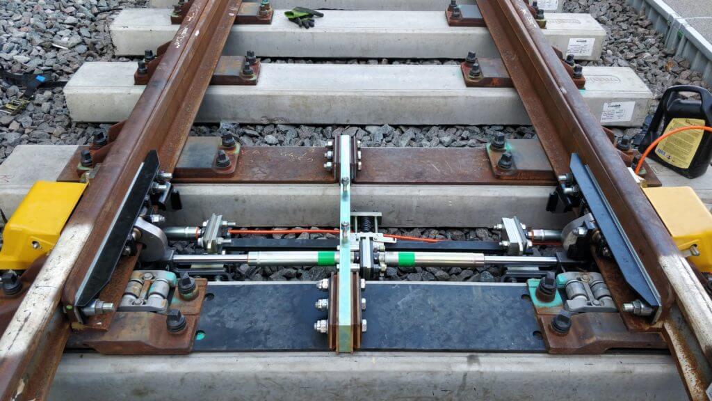 Euston RCPL Wide to Gauge Traps