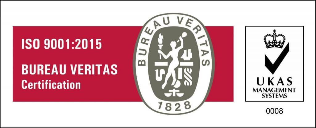 ISO 9001:2015 - Bureau Veritas Certification