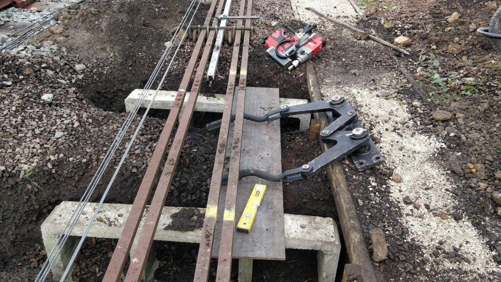 new compensator & bench install